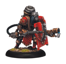Khador Assault Commando Flame Thrower